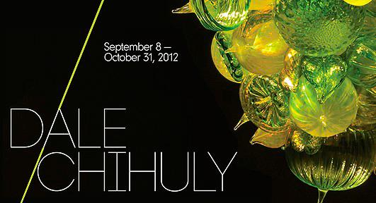 Dale Chihuly<br /> September 11 - December 24, 2012