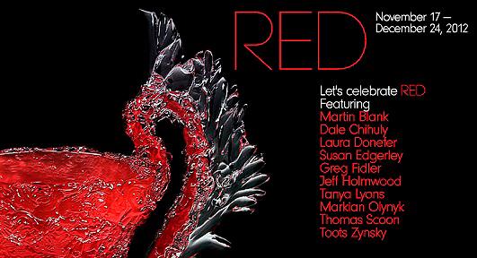 RED<br /> Group Show<br /> November 20 - December 24, 2012
