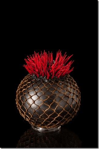 Cathy Strokowsky | Crimson Spiked Mosaic
